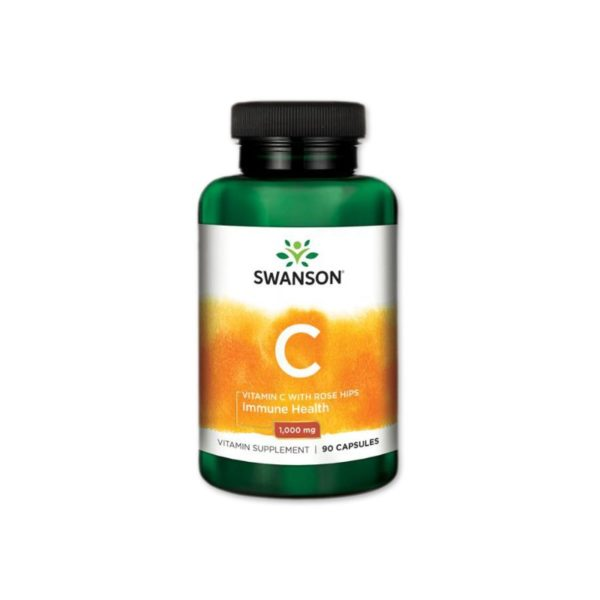 Swanson 1000mg C-vitamint és csipkebogyót tartalmazó