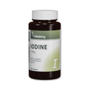 vitaking jód (iodine)  tabletta – 240db
