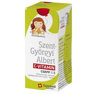 Goodwill Szent-Györgyi Albert C-vitamin csepp - 30ml