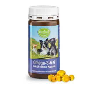 Sanct Bernhard Omega 3-6-9 lenmagolaj kapszula kutyáknak - 180db