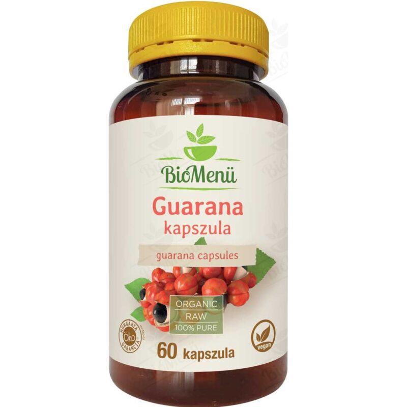 Biomenü Bio guarana kapszula - 60db