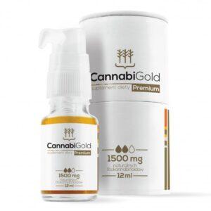CannabiGold Prémium 1500 mg kender kivonat