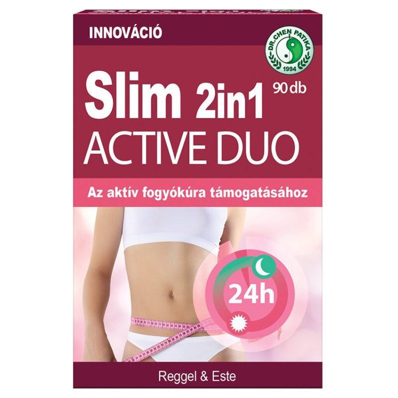 Dr. Chen Slim Aktív Duo 2in1 kapszula