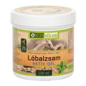 Herbioticum Lóbalzsam aktív hűsítő gél 25 gyógynövénnyel - 250ml