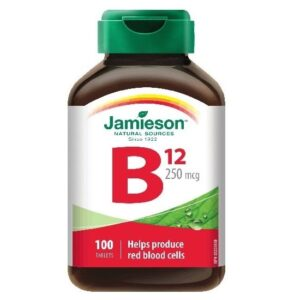 Jamieson B12-vitamin tabletta - 100db