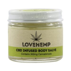 Love Hemp 300mg CBD Body Salve - 50ml