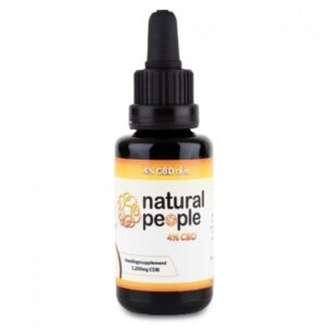 Natural People CBD 5mg 4% kendermag olaj - 30ml