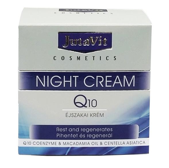 Jutavit Cosmetics Q10 éjszakai krém - 50ml