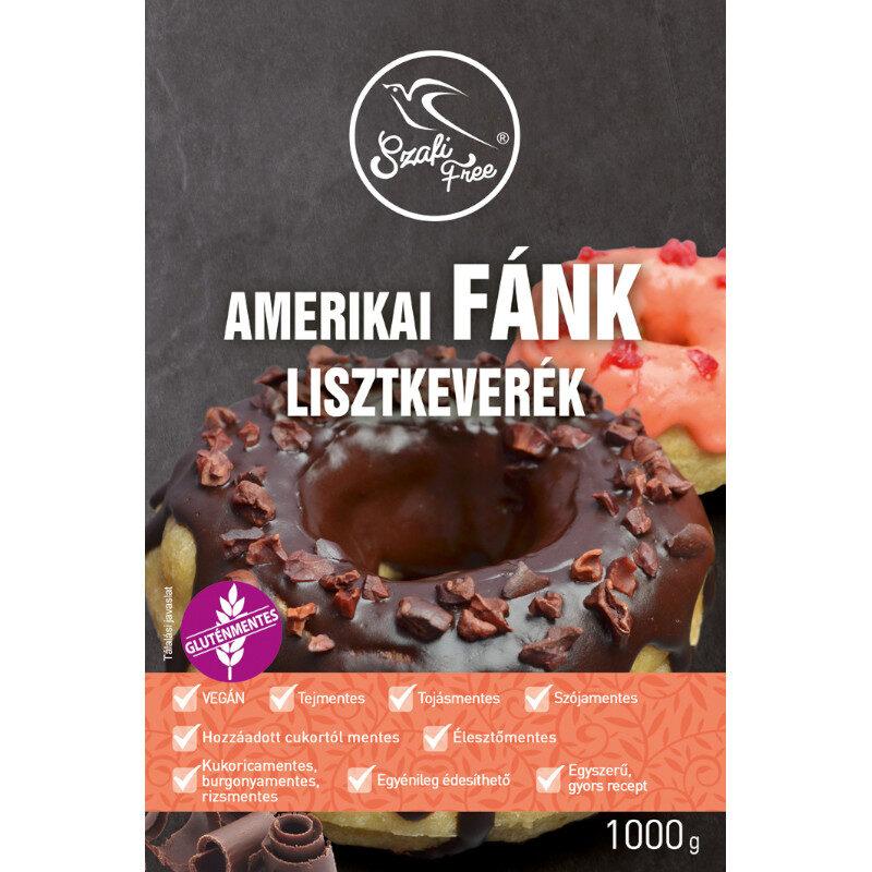 Szafi Free Amerikai fánk lisztkeverék - 1000g