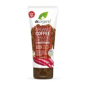 Dr. Organic Haj- és fejbőrstimuláló kondicionáló bio kávéval