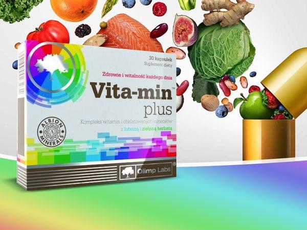 Olimp Labs Vita-min Plus – az erős immunrendszerért