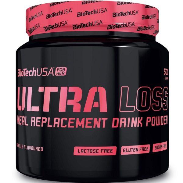 BioTech USA Ultra Loss mogyoró shake - 450 g