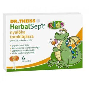 Dr. Theiss Herbalsept nyalóka torokfájás ellen - 6db