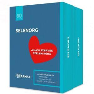 Selenorg tabletta - 2x60db