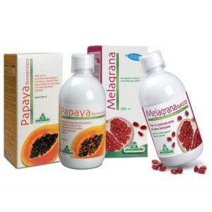 Specchiasol Melagrana koncentrátum + Specchiasol Fermentált Papaya koncentrátum
