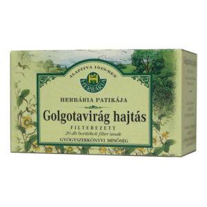 Herbária golgota virág hajtásvég tea - 20x1g borítékolt filter/doboz