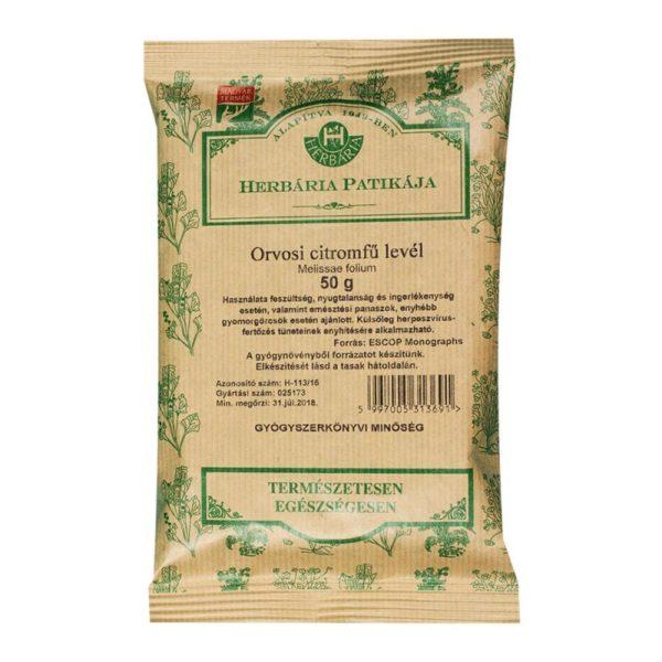 Herbária citromfű levél tea - 50g