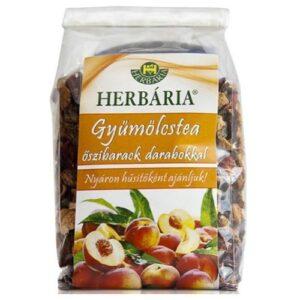 Herbária őszibarack darabokkal gyümölcstea - 120g