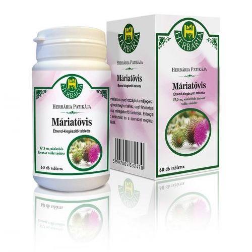 Herbária Máriatövis kapszula - 30db