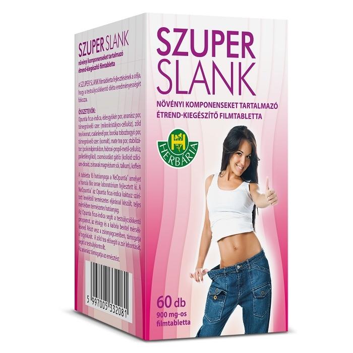 Herbária Super slank kapszula - 60db