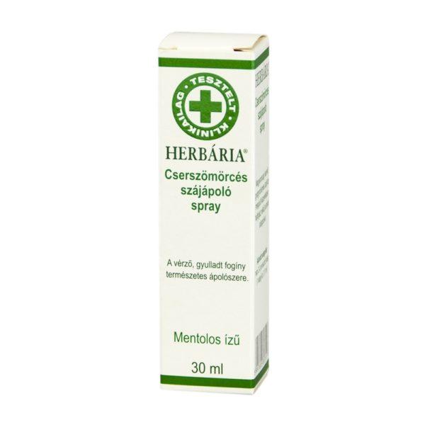 Herbária cserszömörcés szájápoló spray - 30ml