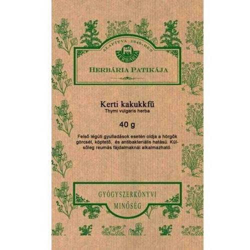 Herbária kerti kakukkfű tea - 40g