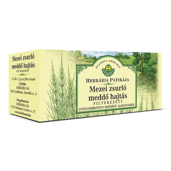 Herbária mezei zsúrlófű tea - 25x1,2g filter/doboz