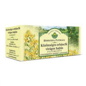 Herbária orbáncfű tea - 25x2g filter/doboz