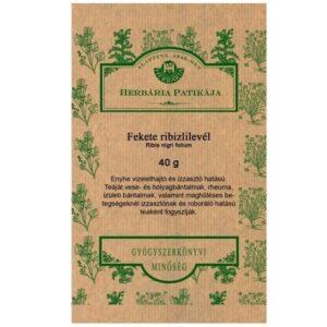Herbária feketeribizli levél tea - 40g