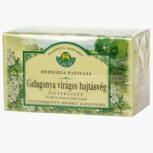 Herbária galagonya virágos hajtásvég tea – 20x1g