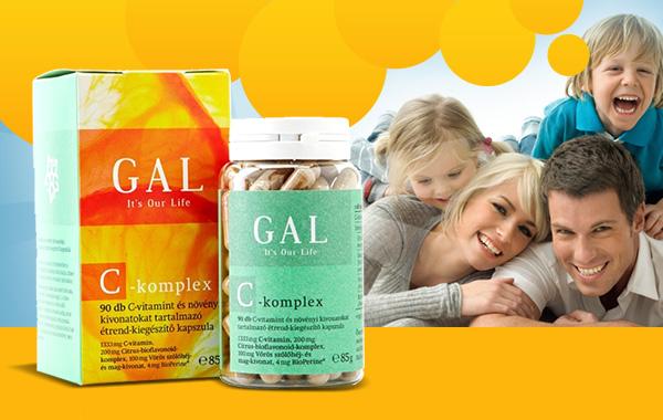 GAL C-komplex – általános immunerősítő