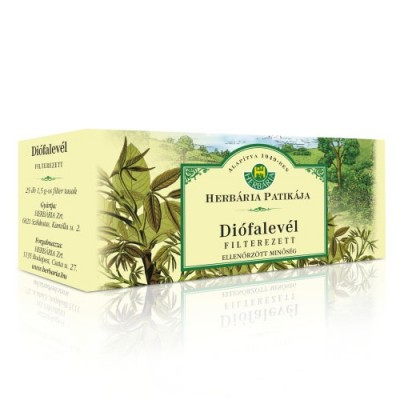 Herbária diófalevél filteres tea - 25 filter