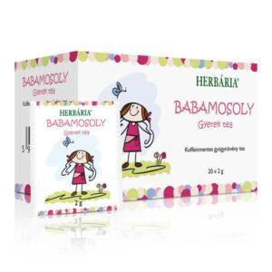 Herbária babamosoly filteres gyerek tea - 20 filter