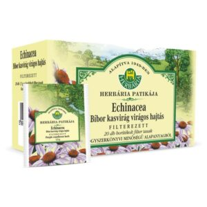 Herbária bíborkasvirág hajtásvég tea - 20x1,5g filter/doboz