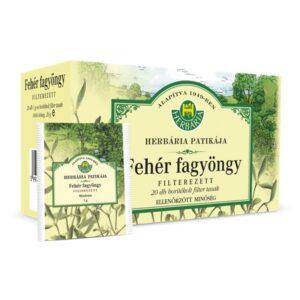 Herbária fehér fagyöngy tea - 20x1g borítékolt filter/doboz