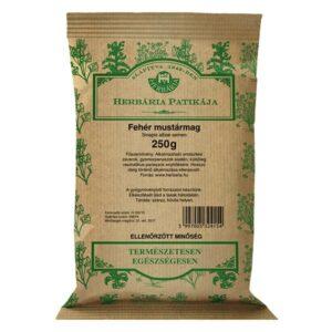 Herbária fehér mustármag - 250g