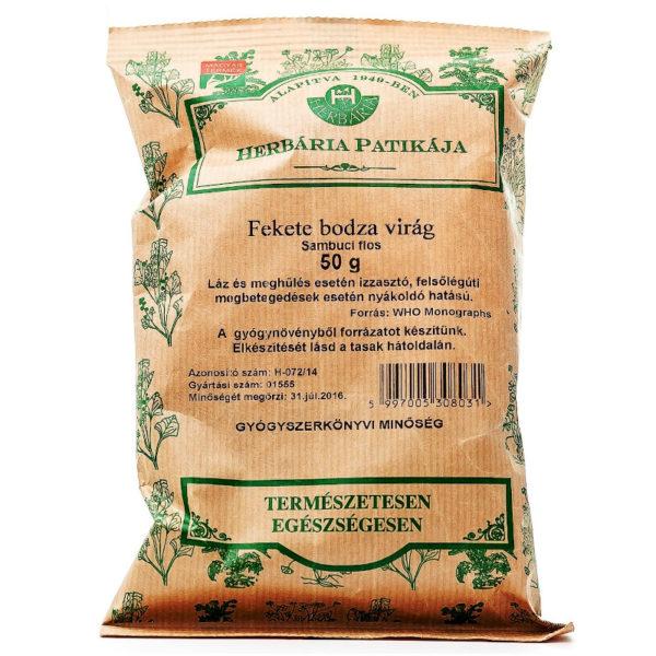 Herbária bodzavirág tea - 50g