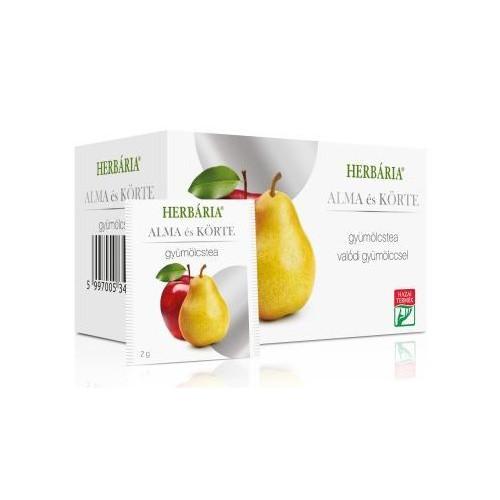 Herbária gyümölcstea alma-körte - 20 filter