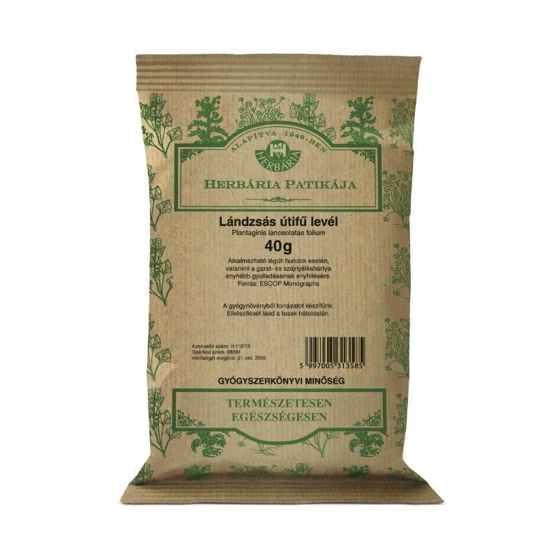 Herbária Lándzsás útifű levél tea – 40g