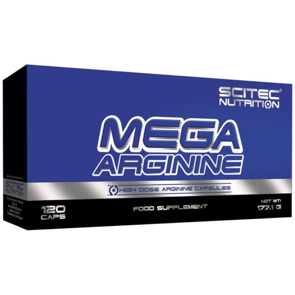 Scitec Nutrition Mega Arginine kapszula - 120db
