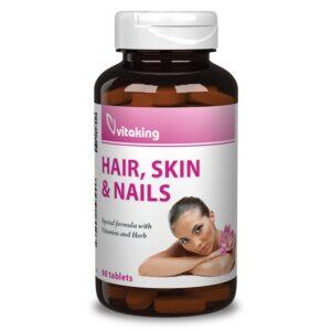 Vitaking haj bőr köröm multivitamin - 60db