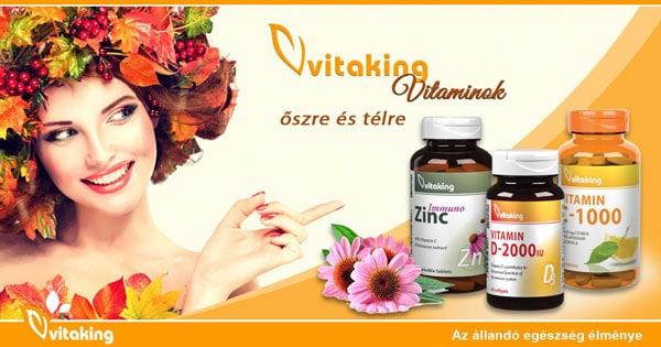 Vitaking Vitaminok a hűvösebb időkre az egészség védelmében