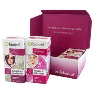 Bioheal Beauty Secrets - Igazgyöngy szépségvitamin + Kollagén&Hialuronsav - 2x70db+60db