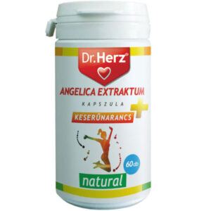 Dr. Herz Angelica Extraktum + Keserűnarancs kapszula - 60db