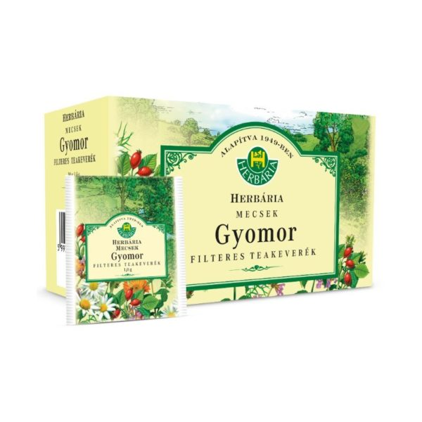 Herbária Mecsek gyomor tea - 20 filter
