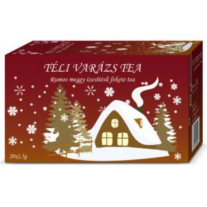 Herbária Téli Varázs rumos meggy gyümölcs tea - 20 filter