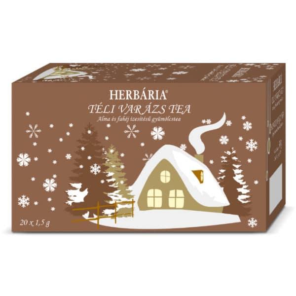 Herbária Téli Varázs alma-fahéj gyümölcs tea - 20 filter