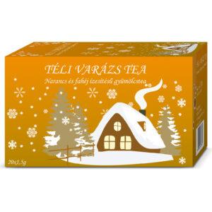 Herbária Téli Varázs narancs és fahéj ízű gyümölcs tea - 20 filter