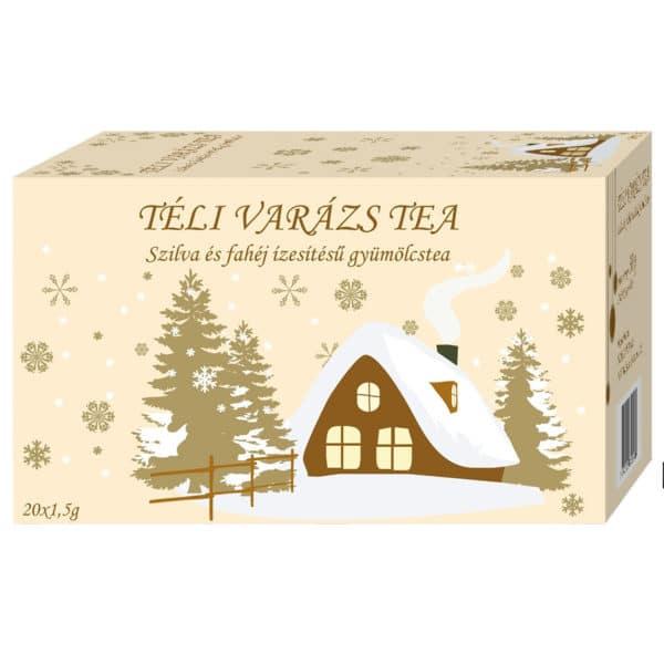 Herbária Téli Varázs szilva-fahéj ízű gyümölcs tea - 20 filter