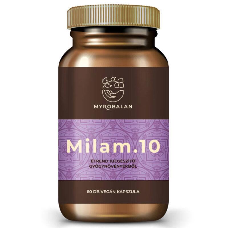 Myrobalan Milam.10 - pihentető alvás kapszula - 60db